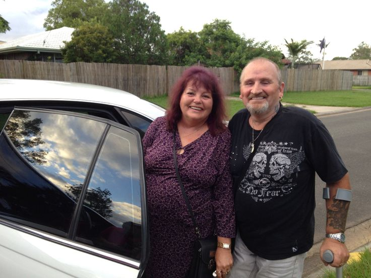 Me and wife going by Limo to see Suzi Q.