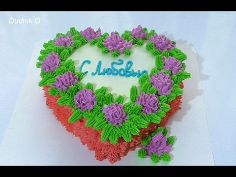 Мастер класс кремовые цветы