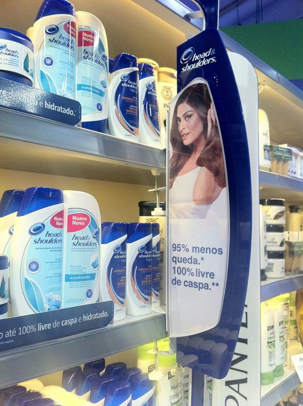 Expositores Head&Shoulder P&G by Anderson Nazario, via Behance