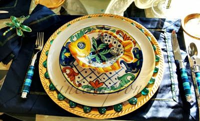 A decorative charger plate is an elegant and underused element of a place setting. The Domestic Curator: CURRENT OBSESSIONS: Charger Plates & How To Use Them