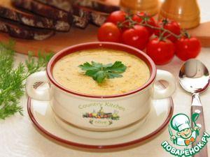 Турецкий суп из чечевицы с грибами.