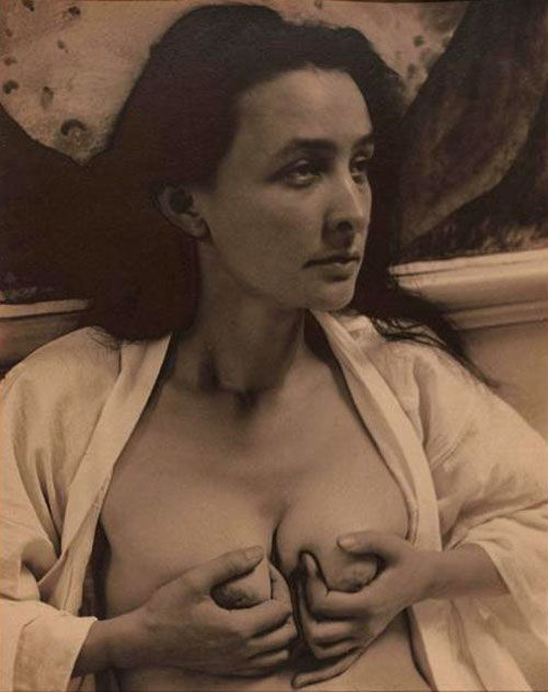 Alfred Stieglitz - Georgia O'Keeffe. She was herself in a time when women were not allowed to be themselves, let alone follow their artistic dreams to New Mexico. Biddy Craft