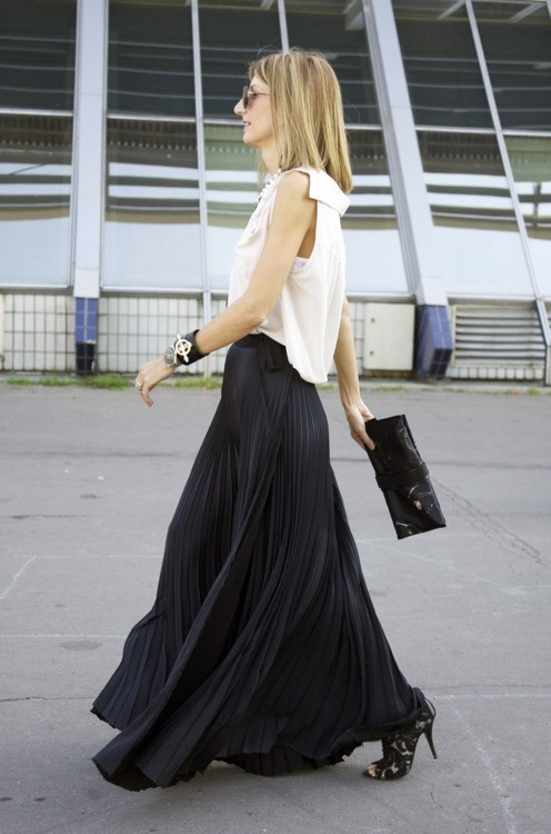 55 best Long Black Skirts images on Pinterest