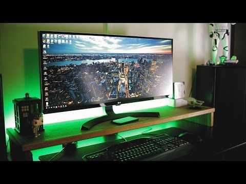 DIY Smart MONITOR STAND - YouTube