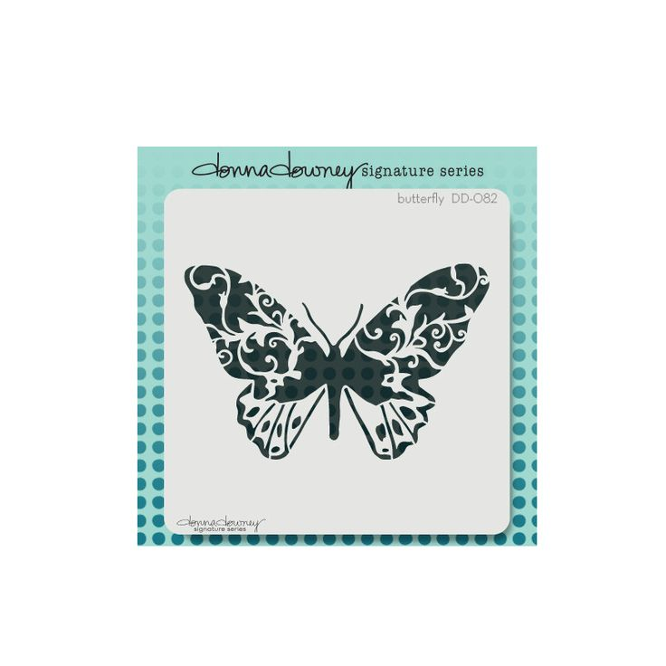 donna downey signature stencils - butterfly from Donna Downey Studios Inc