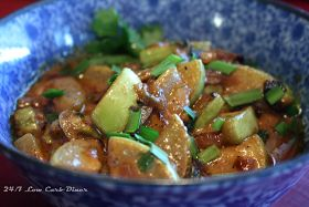 24/7 Low Carb Diner: Opo Squash Curry