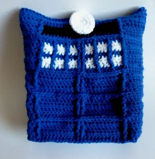 Tardis Bag Knitting Pattern : 17 Best images about Things to Crochet on Pinterest Ravelry, Ponies and Bags
