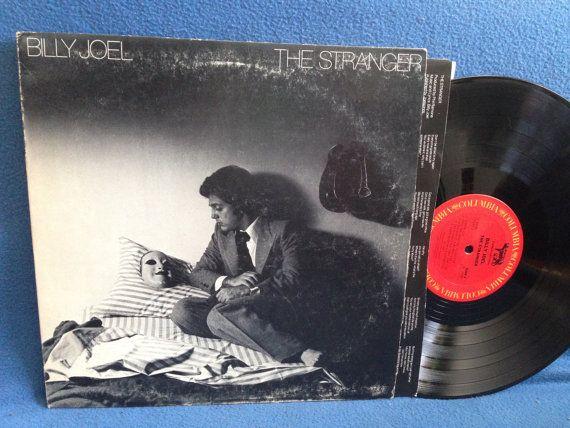 Vintage Billy Joel  The Stranger Vinyl LP Record by sweetleafvinyl