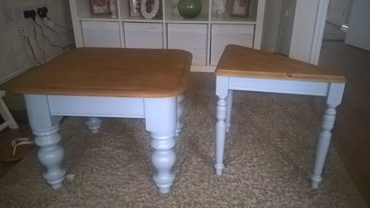 Set of tables recycled!!