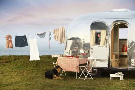 rv as a portable painting studio