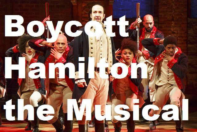 Boycott Hamilton the Musical. How rude and typical of liberal bullies!!!!
