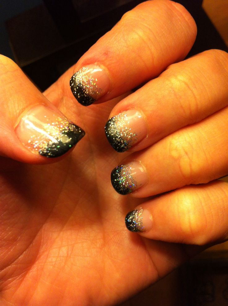 The 117 best New Year\'s Eve nails images on Pinterest | Nail ...