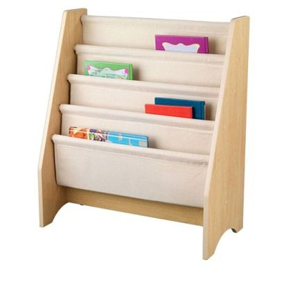 KidKraft Sling Bookshelf - Natural @JameeNbrandy Donaldson  What do you think about this for Caroline?