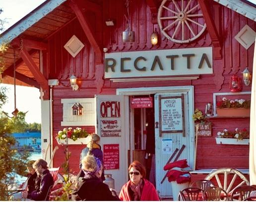 Cafe Regatta, Helsinki, Finland