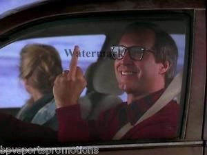 CHEVY CHASE CLARK GRISWOLD CHRISTMAS VACATION 8X10 PHOTO FLIPPING ...