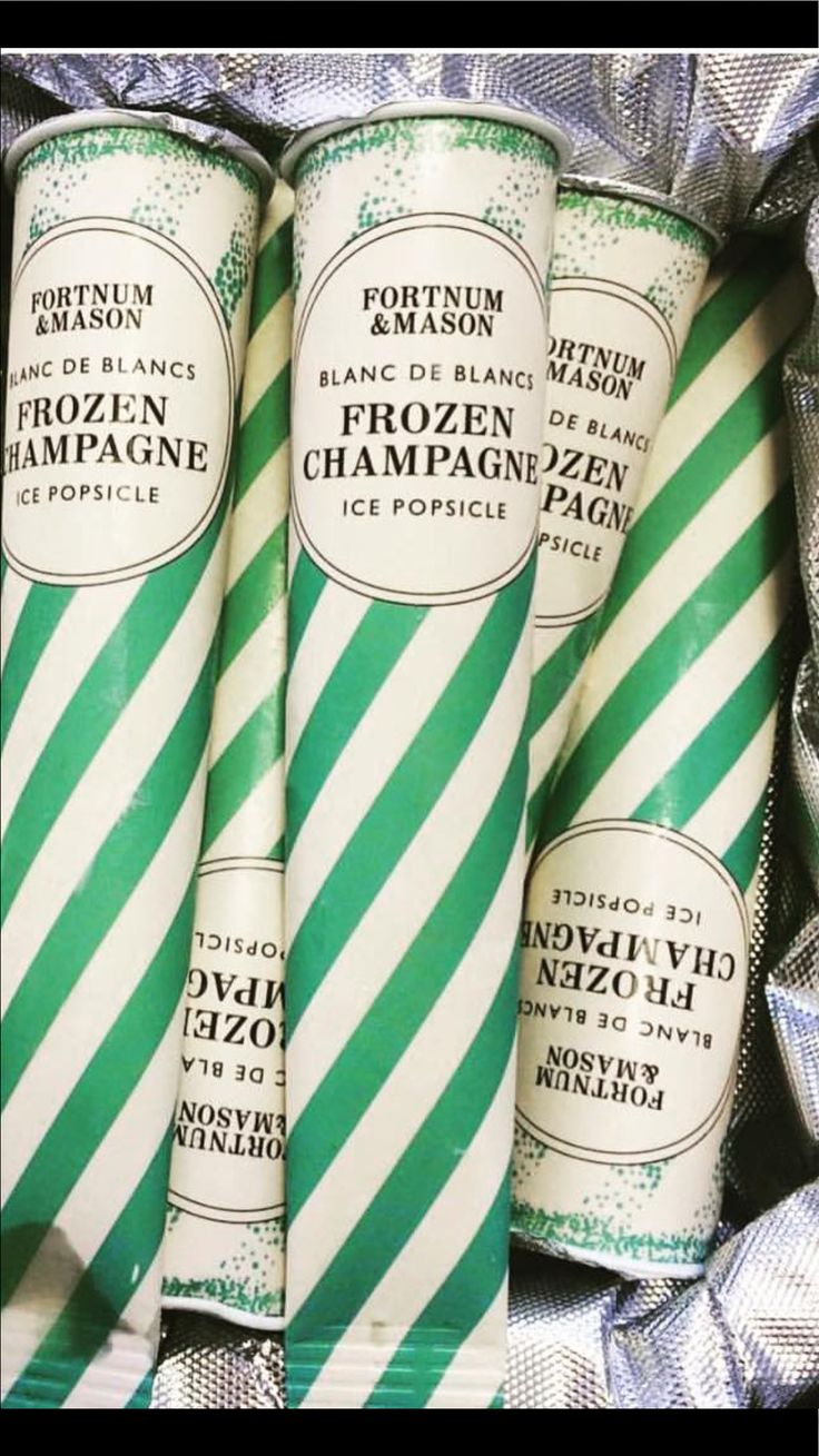 OMG! I want to lie by the pool with one of these this summer. Champagne popsicles!