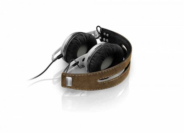 The Sennheiser Momentum Around Ear Wireless Headphones with active noise cancelation with closed circumaural headphone featuring Bluetooth® wireless technology and NoiseGard Hybrid active noise cancelation.