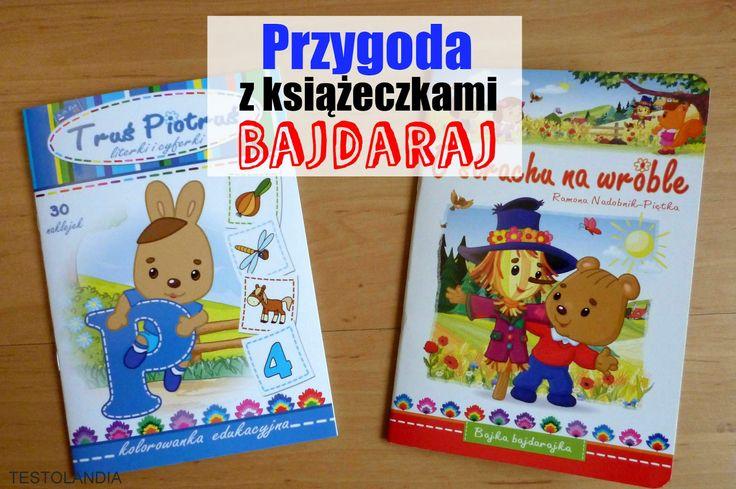 Przygoda z książeczkami Bajdaraj.