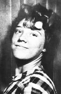 Beautiful Sylvia Likens about age 14 or 15 maybe.