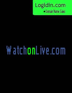 Watchonlive.com - Watch Live Now Domain Names available for sale in the global Market