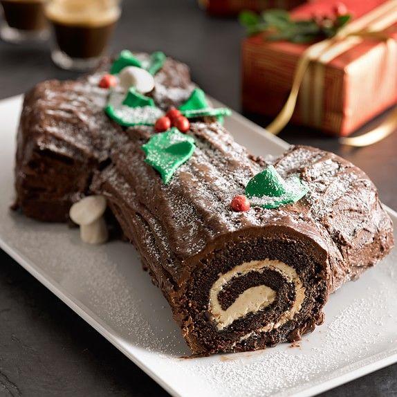 Bûche de Noël Cake | Williams-Sonoma