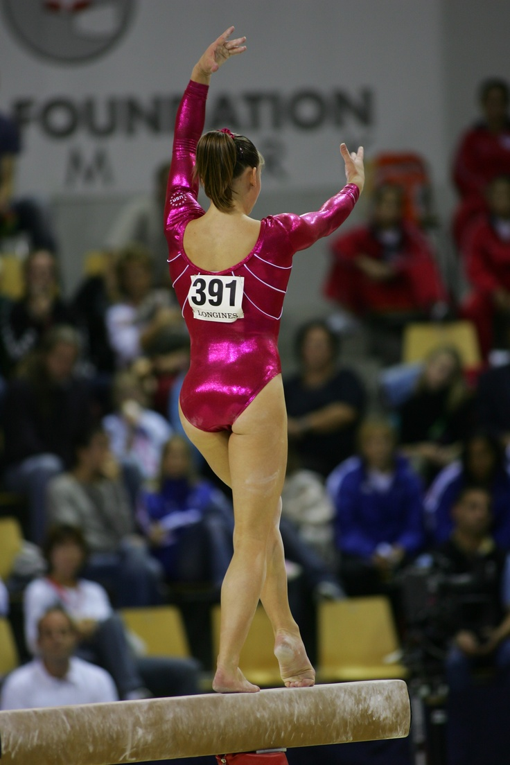 Alicia Sacramone, gymnast, women's gymnastics, WAG, balance beam