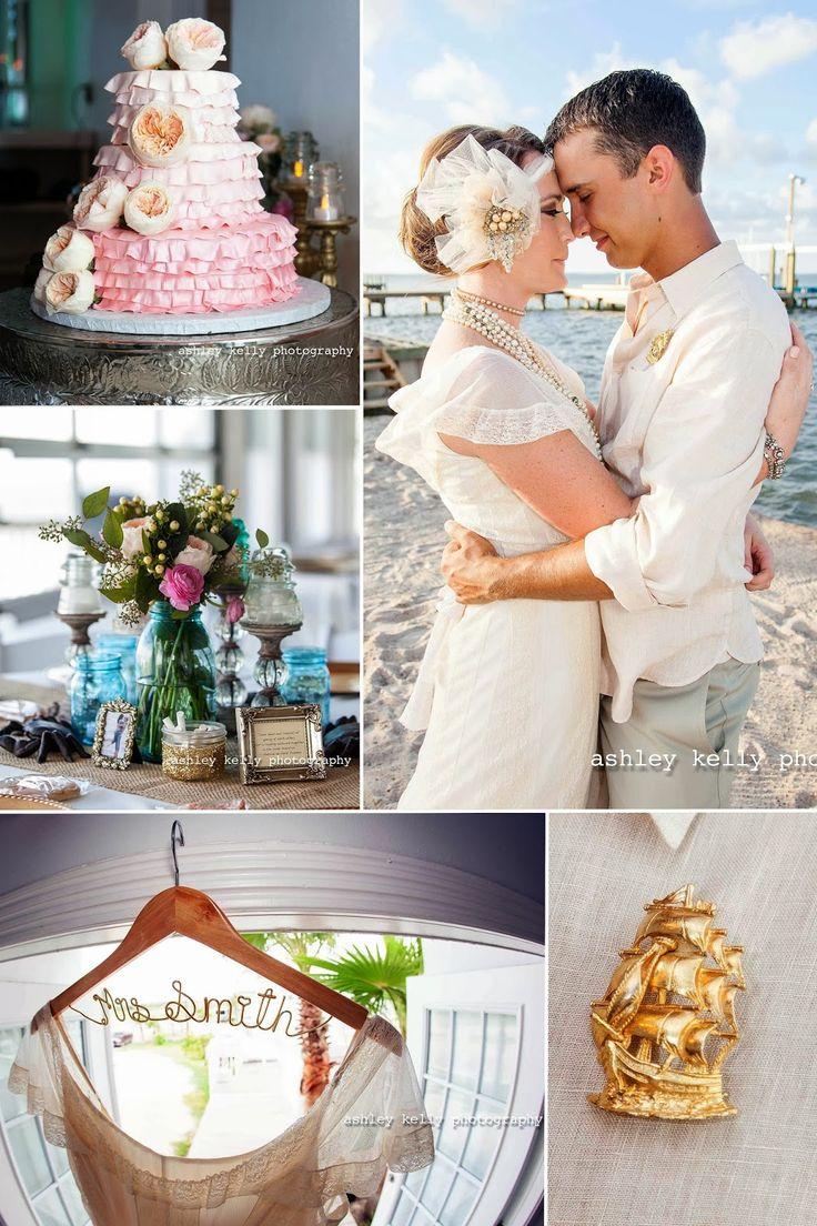 Whitney Zacks Port Aransas Texas Beach Wedding Ashley Kelly Photography
