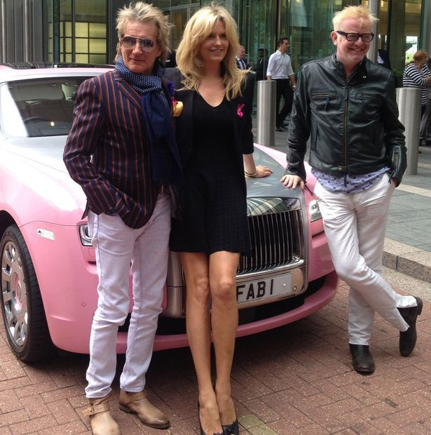 Penny Lancaster makes sure she devotes time to Rod Stewart to keep ...