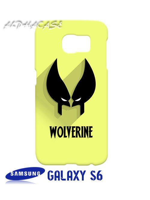 Wolverine Superhero Samsung Galaxy S6 Case