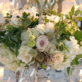 Brides Magazine: White Winter Wedding Flower Ideas : Wedding Flowers Gallery