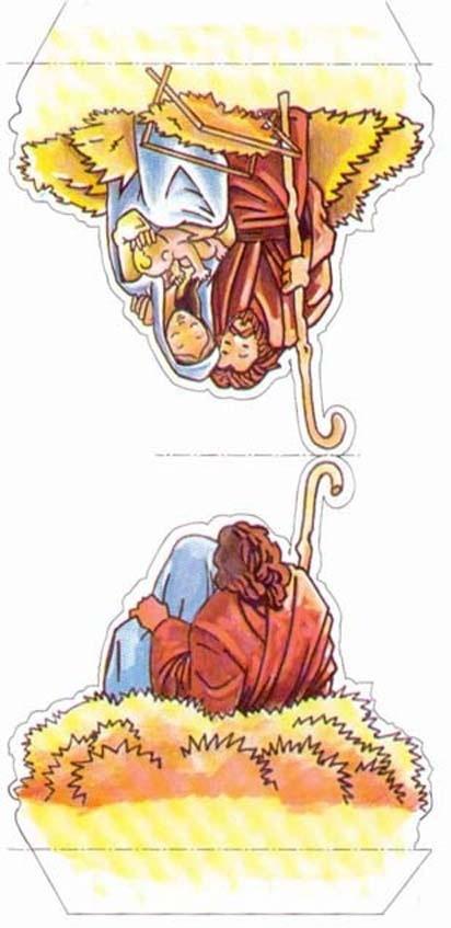 Nativity #5 cut outs