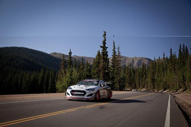 RHR 2013 Hyundai Genesis Coupe at Pikes Peak, via Flickr & Lotpro.com