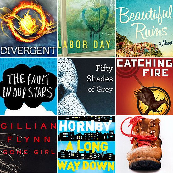 100 Books to Read Before They're Movies  Divergent Labor Day Catching Fire Fifty Shades of Grey The Fault in our Stars etc