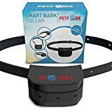 #6: Petfore  9 Adjustable Levels Bark Collar Dog Training System with Digital Display Sensitivity Control Electric Anti Bark Shock Collar with Manual