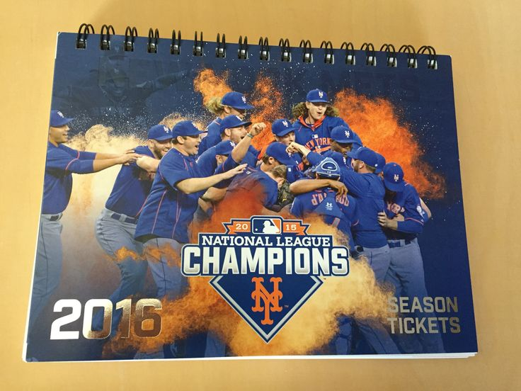 2016 New York Mets Season Tickets.