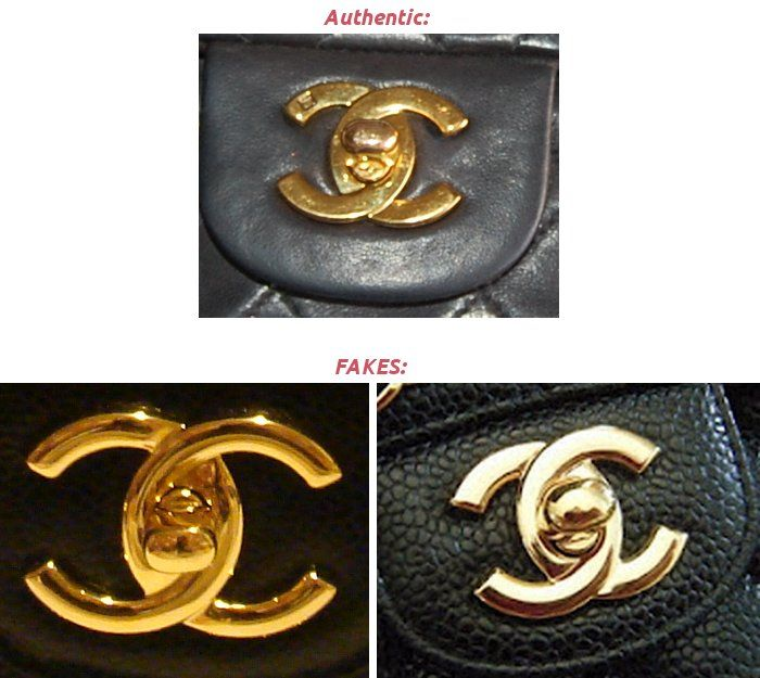 This is not always true . The new Chanel buckle has no markings on the C's . If you buy vintage version , please checking for marking .
