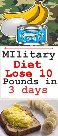 """The military diet is currently one of the world's most popular """"diets."""" It..."""