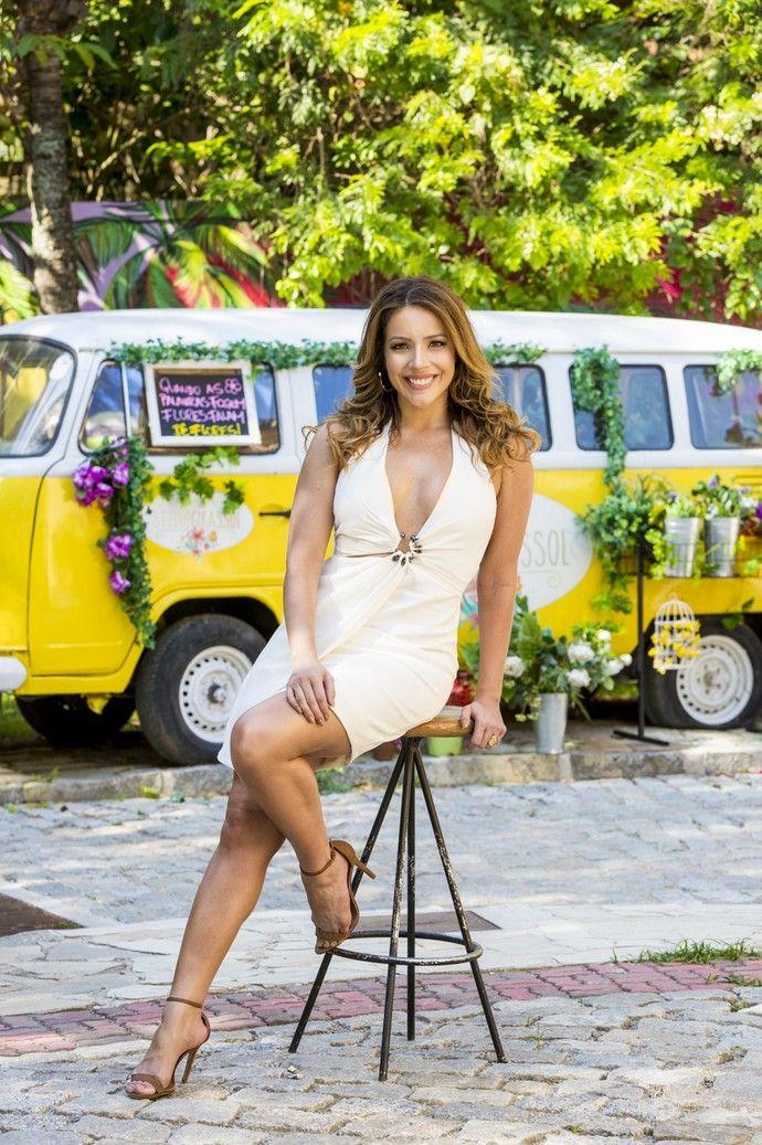 Renata Dominguez posa com look poderoso para o Réveillon (Foto: Ellen Soares/Gshow)