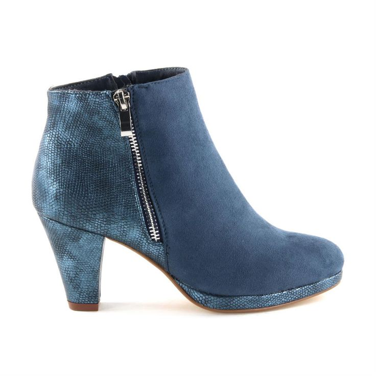 Super Cracks Kiki - Korte laars met hak - Laarzen en boots - Dames - Bovendeert Schoenen