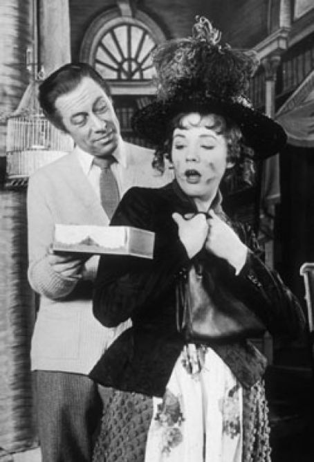 My Fair Lady with Julie Andrews and Rex Harrison. #MyFairLady #Musical #Theatre