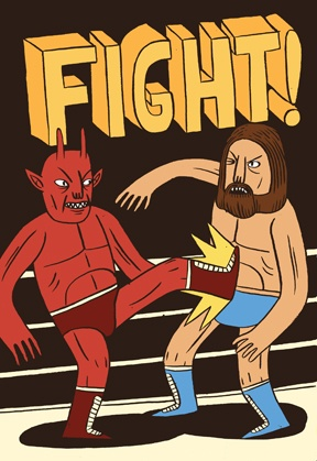Fight! by Jack Teagle. love Nobrow Press
