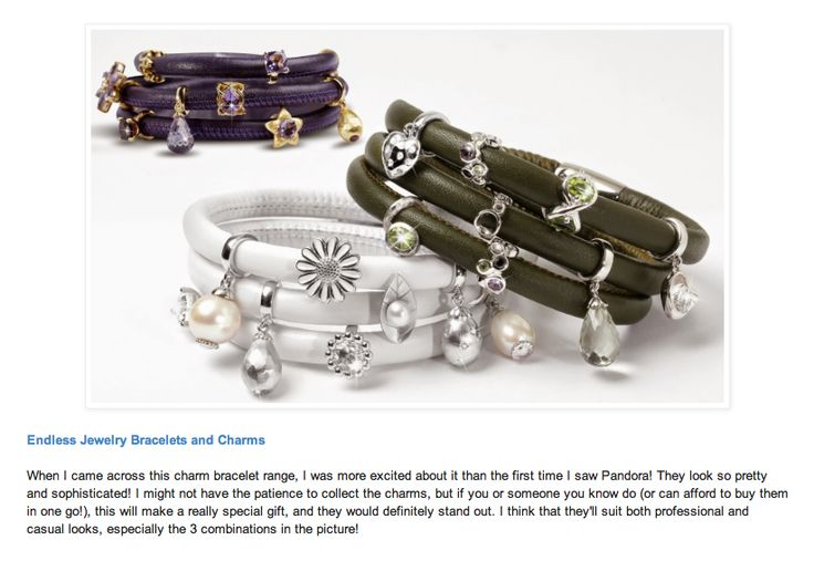 Endless Jewelry on This Is Life blog, Nov 2014, as part of Angela's Christmas gift guide. http://www.angelathisislife.com/2014/11/christmas-gifts-guide-2014-adults.html