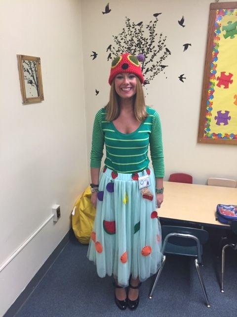 The very hungry caterpillar Halloween costume