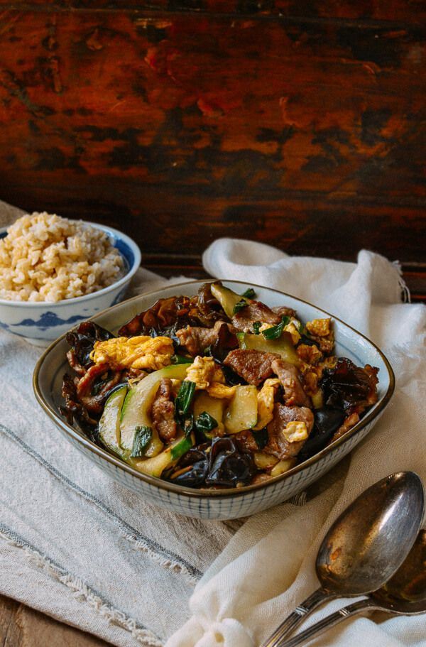 This moo shu pork recipe isn't your typical takeout fare. You may be surprised to know that it's actually a home-style dish in China. Try it out at home!