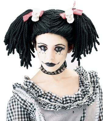 Last years costume!!  Loved it!!Halloweencostumes, Dolls Face, Halloween Costumes, Halloween Makeup, Dolls Makeup, Rag Dolls, Living Dolls, Gothic Rag, Halloweenmakeup