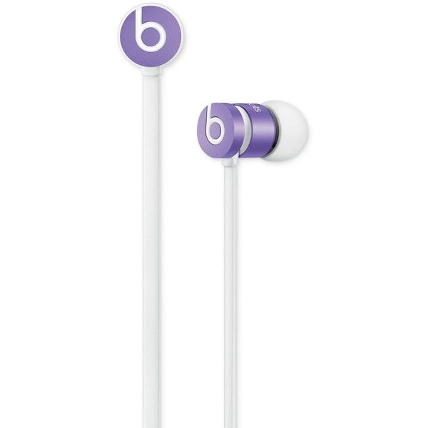 Beats by Dr. Dre UrBeats Earbuds ($100) ❤ liked on Polyvore featuring accessories, tech accessories, violet, earphones earbuds, beats by dr dre earbuds and beats by dr. dre