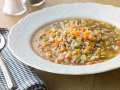 Recipes - Italian-style hamburger soup - Heart and Stroke Foundation of Canada