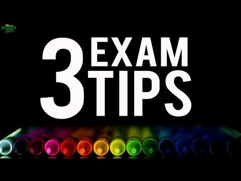 3 Amazing Tips To Pass Exams - YouTube