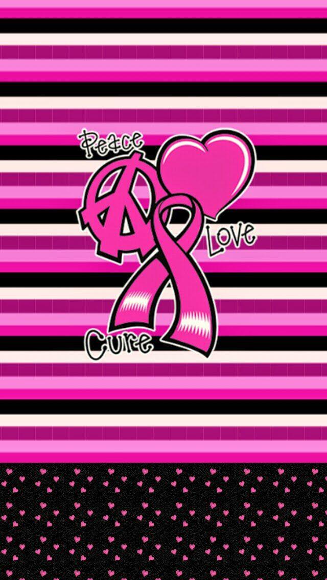 Breast Cancer Awareness Wallpaper Iphone 62 Best Breast Cancer Phone Wallpaper Images On Pinterest