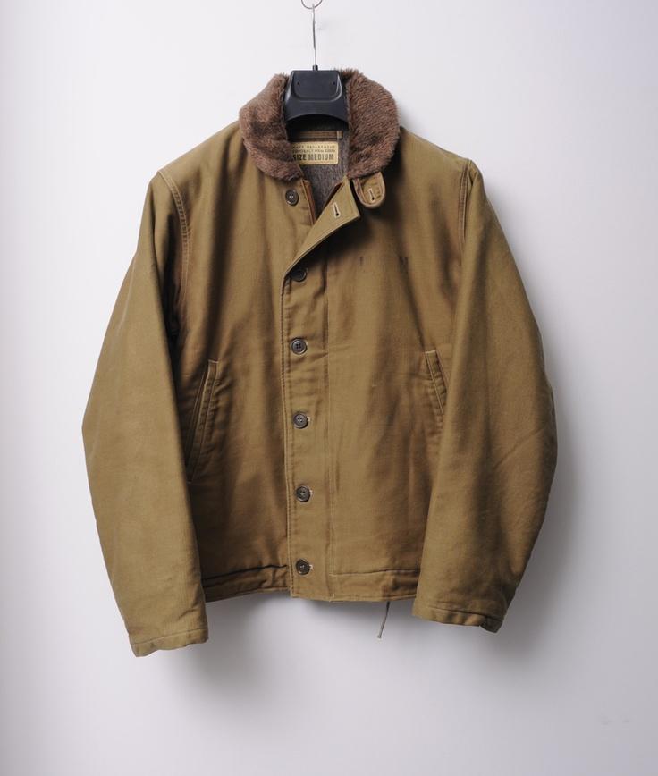 Buzz Rickson WWII Classic M13795 Deck Jacket
